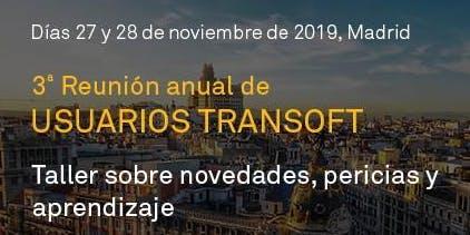 3a Reunión anual de Usuarios Transoft