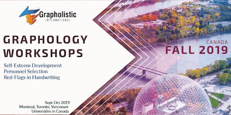 Graphology Workshop in Montreal | Grapholistic Graphology Seminars Tour tickets