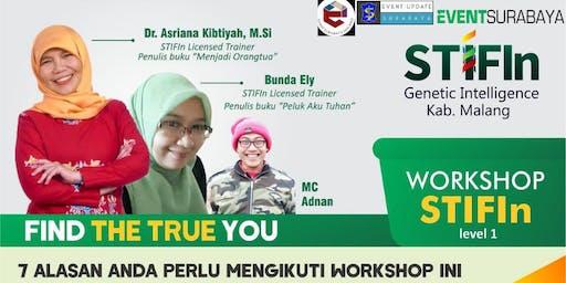 """Workshop STIFIn Level 1 """"Find The True You"""""""