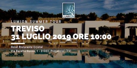 Presentazione Lumion Treviso biglietti