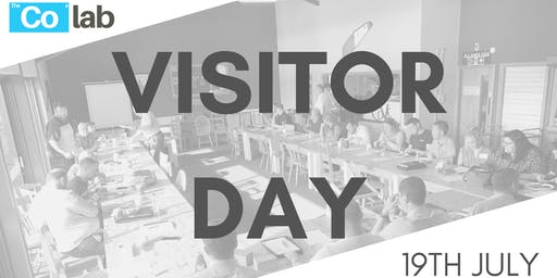 The Co Lab Visitor Day 19th July