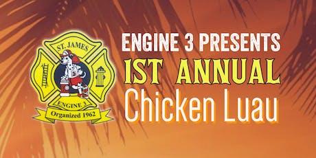 SJFD Engine Co. 3 Chicken Luau tickets