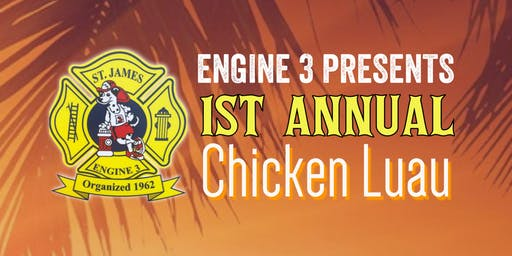 SJFD Engine Co. 3 Chicken Luau