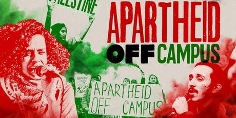 Apartheid Off Campus: National Student BDS Conference 2019 tickets