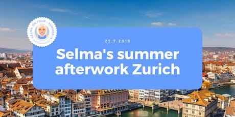 Selma's Summer Afterwork Zurich tickets