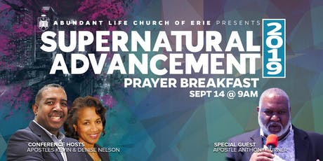 2019 Supernatural Advancement Leaders Prayer Breakfast tickets