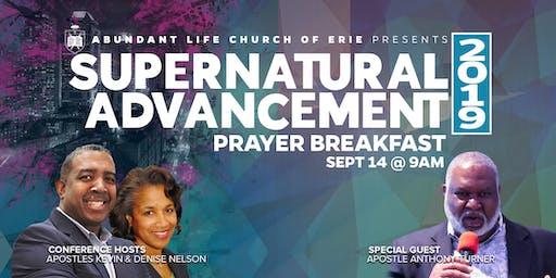 2019 Supernatural Advancement Leaders Prayer Breakfast
