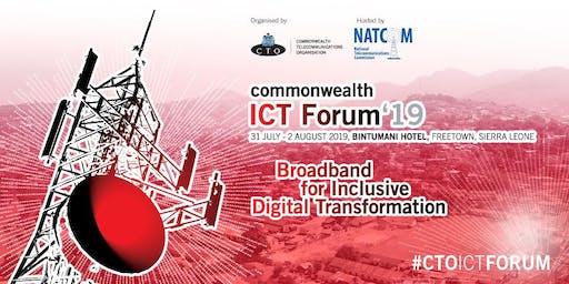 Commonwealth ICT Forum 2019