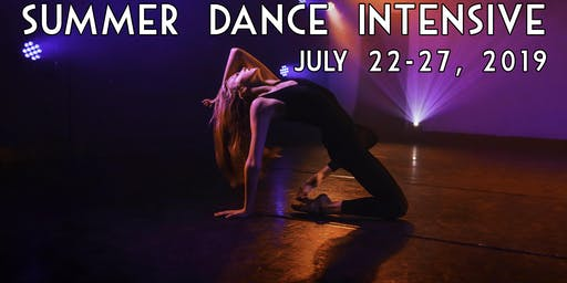 SUMMER DANCE INTENSIVE - July 22 - 27, 2019 National Dance Day Performance
