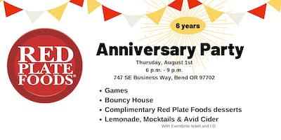 Red Plate Foods Anniversary Party