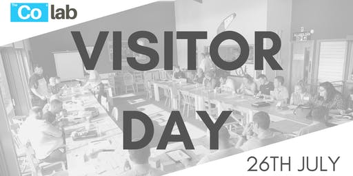 The Co Lab Visitor Day 26th July