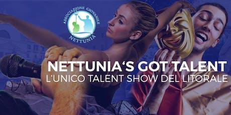 Nettunia's Got Talent - 3a edizione biglietti