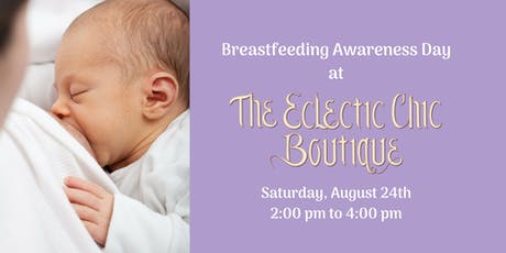 Breastfeeding Awareness Day tickets