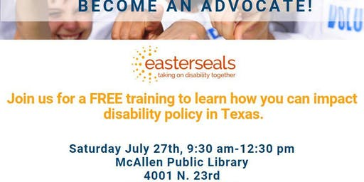 Easterseals Advocacy Training McAllen