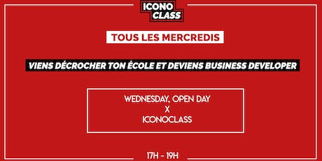 WEDNESDAY, OPEN DAY x  ICONOCLASS (24 JUILLET) billets