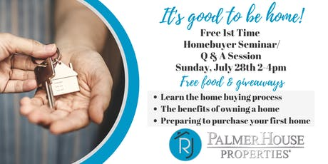 Buying Your First Home Seminar/Q&A tickets