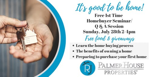 Buying Your First Home Seminar/Q&A