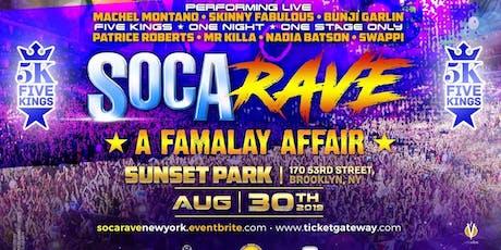 SOCA RAVE NEW YORK tickets