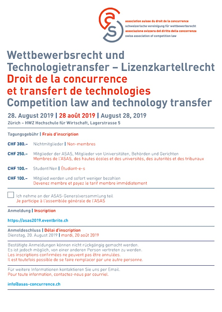 Competition law and technology transfer - Lizenzkartellrecht image