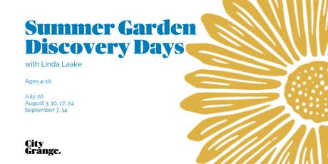 Summer Garden Discovery Days tickets