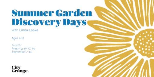 Summer Garden Discovery Days