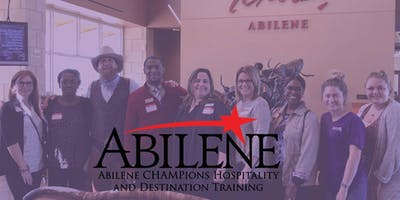 Abilene CHAMPions Hospitality Training