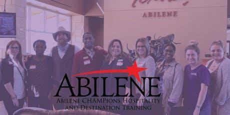 Abilene CHAMPions Hospitality Training  tickets