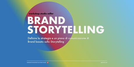 Brand Storytelling biglietti