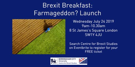 Brexit Breakfast: Farmageddon? Book Launch tickets