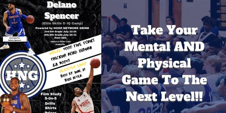 Delano Spencer Elite Skills & IQ Camp | Powered by Hoop Network Grind tickets