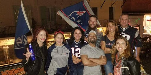 New England Patriots Fan Club New Orleans French Quarter Watch Party