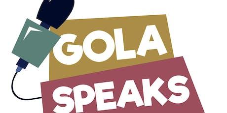 "GolaSpeaks Presents Tori Vogt: ""You Got This"" tickets"