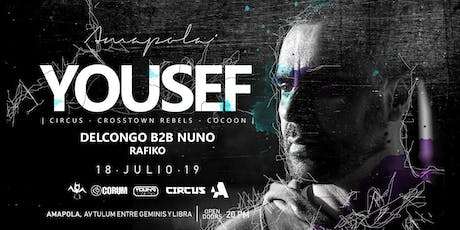 Yousef at Amapola Tulum tickets
