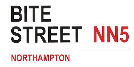 Bite Street, Northampton August 2/3 tickets