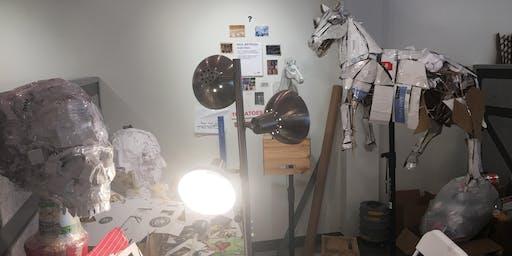 Mixed Media Sculpture Work Shop #1:Interpreting the Human Form