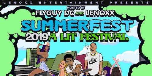 SUMMERFEST 2019 A Lit Festival
