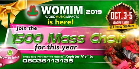 Word Music Impact (WOMIM) 2019 tickets