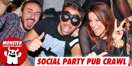 Social party pub crawl on Sat 20 July tickets