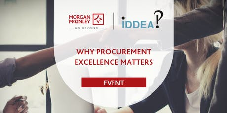 Evening Seminar: Why Procurement Excellence Matters tickets