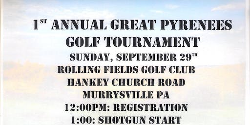 1st Annual Great Pyrenees Golf Tournament