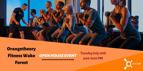 Open House Orangetheory Fitness Wake Forest tickets