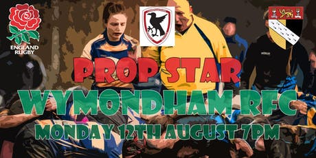 Prop Star - Improving the games Front Row! For Players Coaches and Referees tickets