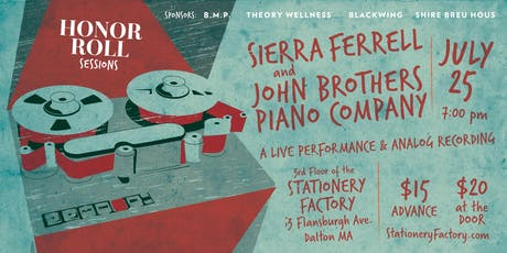 Sierra Ferrell and  John Brothers Piano Company tickets