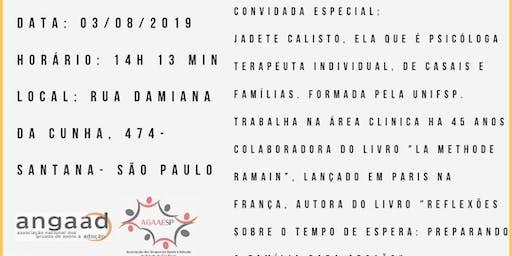 Reunião  GAA famílias brasileiras com a psicóloga Jadete Calixto