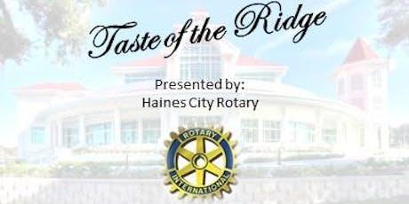Taste of the Ridge tickets