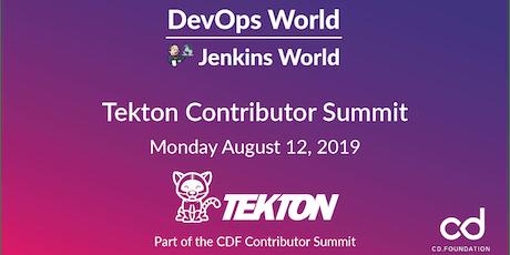 Tekton Contributor Summit 2019 - San Francisco  tickets