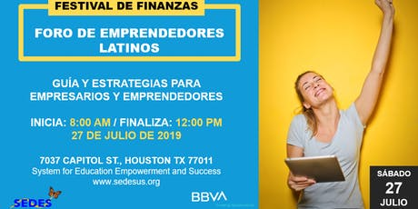 Festival de Finanzas - Empoderando a Emprendedores Latinos tickets