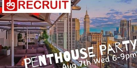 DG Recruit Penthouse Party tickets