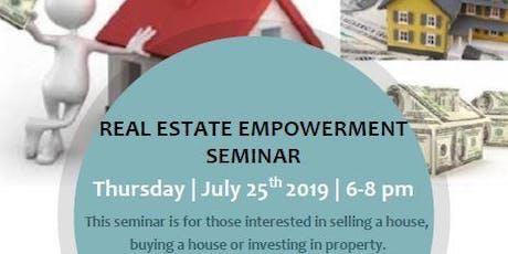 Empowerment Real Estate Seminar tickets