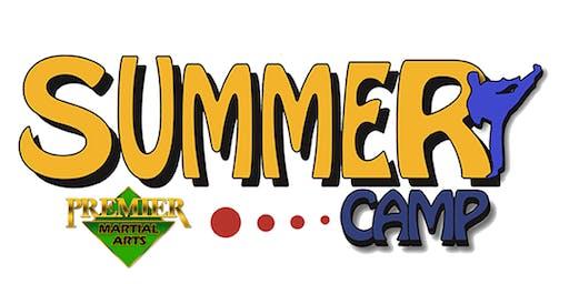 Premier Martial Arts August Summer Camp Cranston